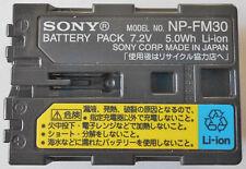Original Sony Np-fm30 ion-litio Original Np-fm55h, NP-FM50, NP-FM51 Np-qm70