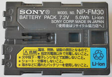Genuine Sony NP-FM30 Original Li-Ion Battery  NP-FM55H, NP-FM50, NP-FM51 NP-QM51