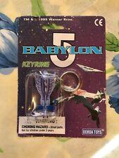 BABYLON 5 micro machines Keyring 1995 RARE SEALED