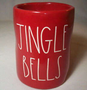 Magenta Rae Dunn: JINGLE BELLS Smoked Birch Red Candle: VGC: NR