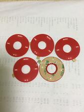 5pc u2 red click wheel cover shell adhesive fr ipod classic 6th 7th 80/120/160GB