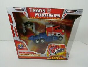 Optimus Prime TRANSFORMERS Robots in Disguse MISB
