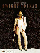 VERY BEST OF DWIGHT YOAKAM PIANO SHEET MUSIC SONG BOOK
