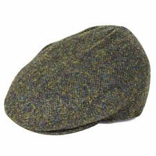 3f697bb30c7 Failsworth Hats Stornoway Harris Tweed Flat Cap - Green Mix 61cm