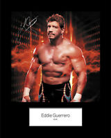 EDDIE GUERRERO #2 (WWE) Signed 10x8 Mounted Photo Print - FREE DELIVERY