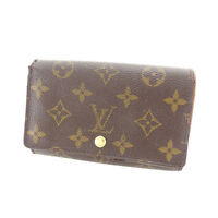 Louis Vuitton Wallet Purse Monogram Brown Woman Authentic Used Y5894