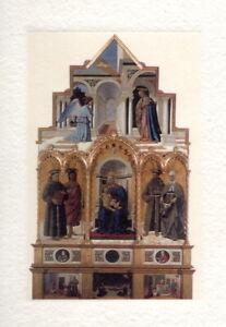 """Piero della Francesca """"Polittico di Sant 'Antonio"""" Art Print Handmade Paper"""