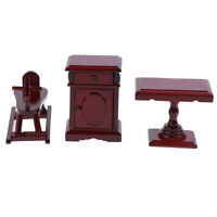 Dollhouse Miniature Wooden Room Furniture 1:12 Accessories Toys for ChildrenJ SE
