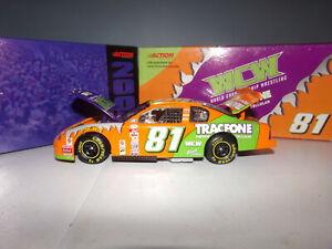 1/24 BLAISE ALEXANDER #81 TRACFONE / WCW  2000 ACTION NASCAR DIECAST