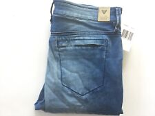 Guess Women's Mid Rise Skinny Jeans Leisure Indigo Jegging Fit Ankle Zip Size 27