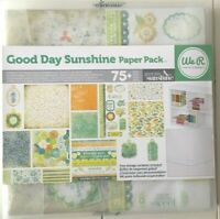 """WE R MEMORY KEEPERS """"GOOD DAY SUNSHINE"""" 12X12 PAPER & EMBELLISHMENTS SUMMER KIT"""
