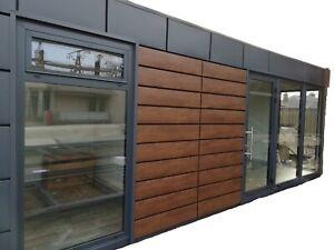 Bürocontainer Container Büro Verkaufsraum Pavillon 7x3m 21qm NEU! PIR Platten