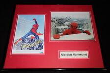 Nicholas Hammond Signed Framed 16x20 Photo Display AW Spider-Man
