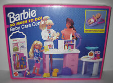1995 NEW NIB Barbie BABY CARE CENTER So Much To Do Hospital Playset w/ BABY DOLL