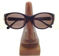 Vintage Cerruti 1881 C 2613 Black Gold Oval Sunglasses FRAMES ONLY