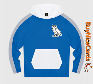 Drake's October's Very Own OVO Lightweight Shell Hoodie Size Large Brand New