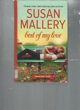 SUSAN MALLERY - BEST OF MY LOVE -  LARGE PRINT -  LP 232