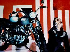 1968 TRIUMPH TROPHY SPECIAL VINTAGE MOTORCYCLE AD -TR6C/650 cc engine/print/sign