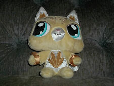 HASBRO LITTLEST PETSHOP PET SHOP GOLD SASSIEST KITTY CAT PLUSH WITH ONLINE CODE