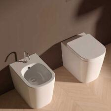Sanitari Filo parete Ceramica Domus Falerii Foglia Quadra sedile SoftClose