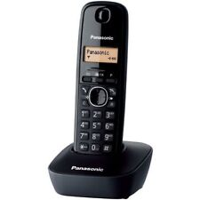 PANASONIC TELEFONO CORDLESS PANASONIC DECT COLORE NERO KX-TG1611
