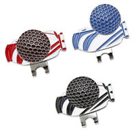Magnetic Golf Ball Marker Golf Hat Clip for Cap Tie with Golf Bag Design