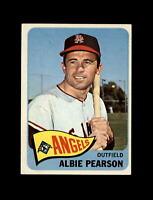 1965 Topps Baseball #358 Albie Pearson (Angels) NM