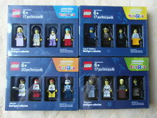 LEGO MINIFIGURE COLLECTION TOYSRUS ALLE 4 SERIE 1,2,3,4 LIMITED EDITION FIGUREN