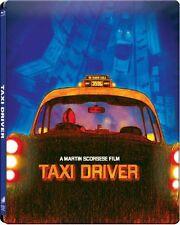 TAXI DRIVER (Robert De Niro, Jodie Foster) Blu-ray Disc, Steelbook NEU+OVP