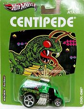 Hot Wheels 1:64 Pop Culture VIDEO GAME ARCADE COOL-ON - CENTIPEDE Diecast Car