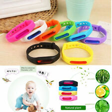 Anti Mosquito Pest Insect Bugs Repellent Repeller Wrist Band Wristband Bracelet