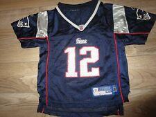 Tom Brady #12 New England Patriots Reebok NFL Jersey Toddler 4T