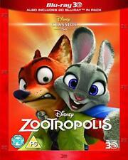 Zootropolis [Blu-ray 3D + Blu-ray] [2016] [DVD][Region 2]