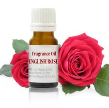 10 ml English Rose Fragrance Oil for Soap/Candle/Cosmetics | Highly Concentrated