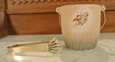 Arte Murano Glass Ice Bucket  with Cherub Made in Italy
