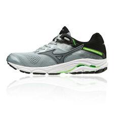 Mizuno Hombre Wave Inspire 15 Correr Zapatos Zapatillas Plata Deporte