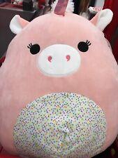 "Squishmallows 16"" Mikah the Unicorn plush kellytoy  limited edition NWT"