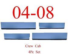 04 08 F150 Crew Cab 4Pc Lower Door Skin Bottom Kit Ford Truck, Super Crew