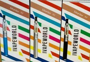 I VAPEWORLD SMART NEW SMOKE VAPE STARTER KIT AVAILABLE IN 5 COLORS FAST & FREE P