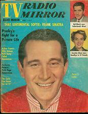 TV Radio Mirror Magazine Dec 1957, Frank Sinatra, Perry Como, Elvis Presley
