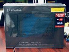 Brand new sealed AVerMedia Live Gamer HD 2 PCI-E Game Capture Card