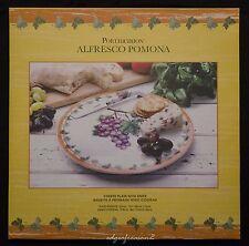 PORTMEIRION POMONA ALFRESCO CHEESE PLATE AND KNIFE