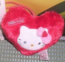 PELUCHE CUORE HEART PLUSH SANRIO KAWAAI CAT-HELLO KITTY san valentino,love,amore