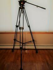 Manfrotto 546B Aluminum Professional Video Tripod Mid-Level Spreader 504Hd w/bag