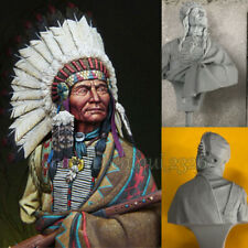 Chieftain 1/10 Bust Resin Model Kits Unpainted Unassembled GK
