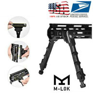 "M-LOK 7.5"" - 9"" Rifle Bipod Lightweight Adjustable for Gun Hunting US Stock"