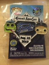 Funko Field Pin Everett AquaSox Pop Pins Limited Edition MLB Hat Pins NEW SGA