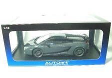 Lamborghini Gallardo Superleggera gris 1 18 Autoart