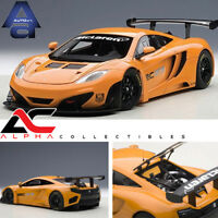 AUTOART 81340 1:18 MCLAREN 12C GT3 PRESENTATION CAR METALLIC ORANGE SUPERCAR