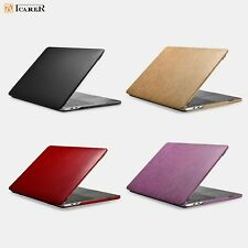 ICARER New Luxury Ultra Slim Leather 2in1 Case Cover For MacBook Pro 13'' 15''
